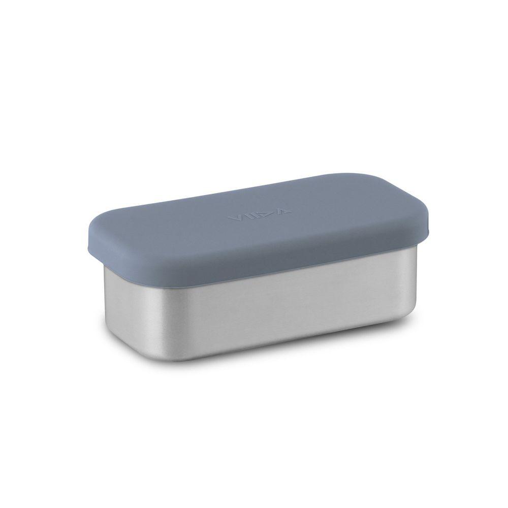 VIIDA - Kasten & Kassie分隔盒 (單入)-316抗菌不鏽鋼-藍 (220ml)