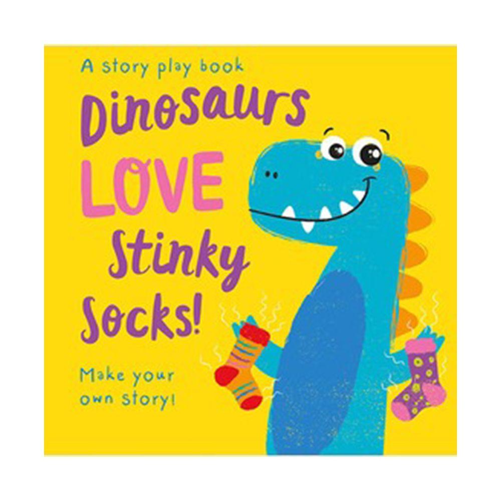 Dinosaurs LOVE Stinky Socks! 小恐龍愛臭襪襪(拼圖配對書)