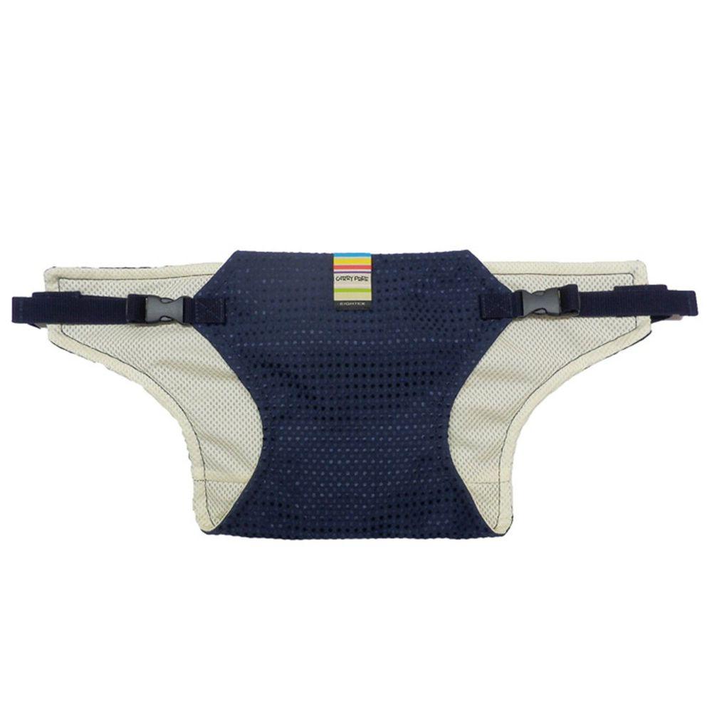 akachan honpo - 幼兒椅子固定帶(潑水×網眼)-深藍色- EIGHTEX