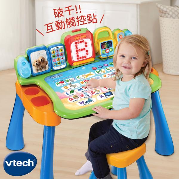 就像英語老師在你家【Vtech點讀桌】可對話互動玩遊戲