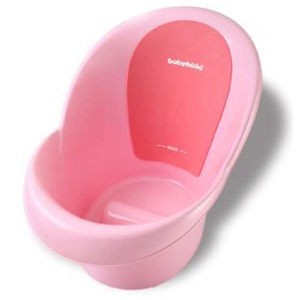 babyhood - 朵唯嬰兒浴桶/澡盆/浴盆-粉色