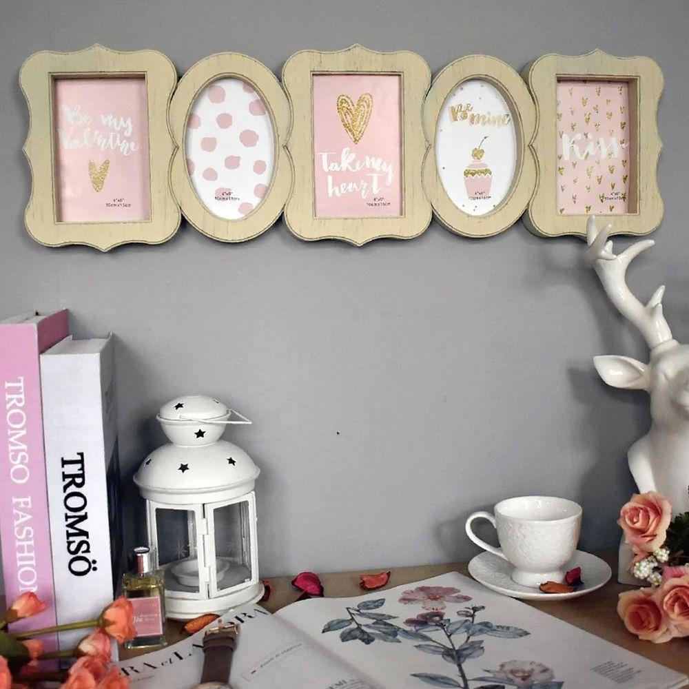 Tromso - 甜心巴黎刷木紋5框組