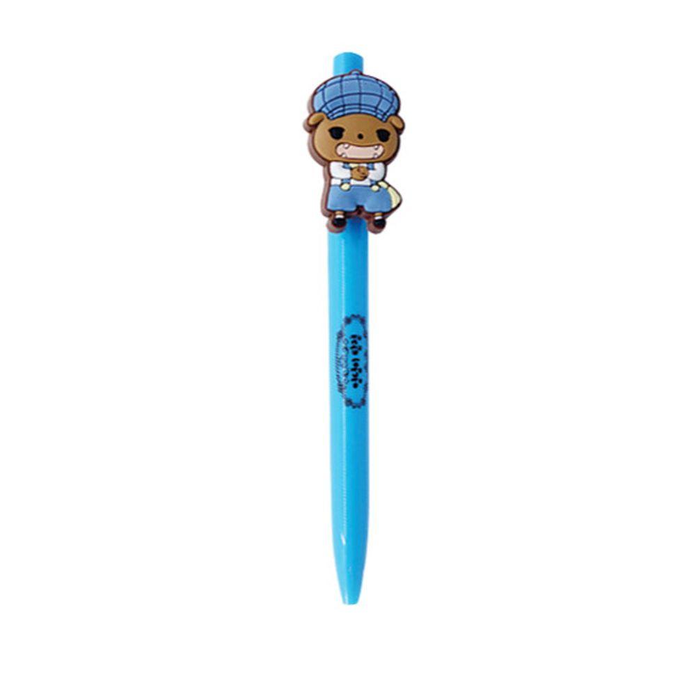 韓國代購 - 屁屁偵探原子筆-藍