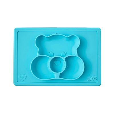Care Bears聯名餐盤-願望熊-餐盤-藍 (30.5cm*20.5cm*2.54cm)-255ml