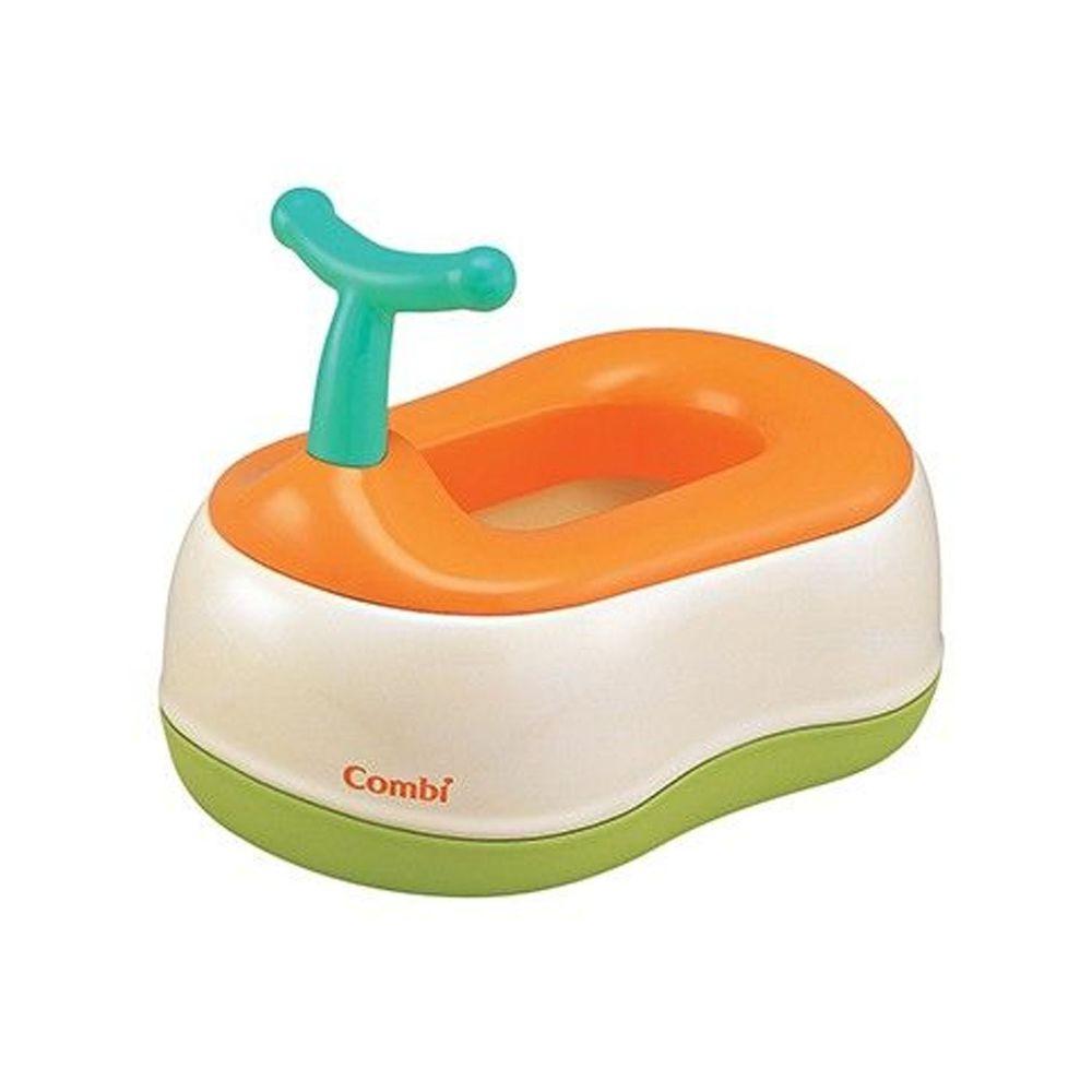 日本 Combi - 優質三階段訓練便器-贈Kuma Kun超純水嬰兒柔濕巾80抽促銷組