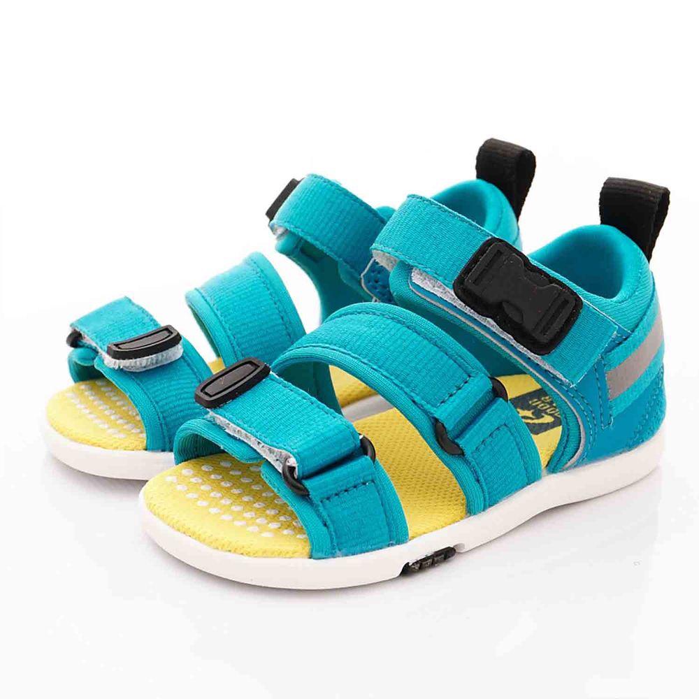Moonstar日本月星 - 日本月星機能童鞋-2E速乾涼鞋款(中小童段)-藍
