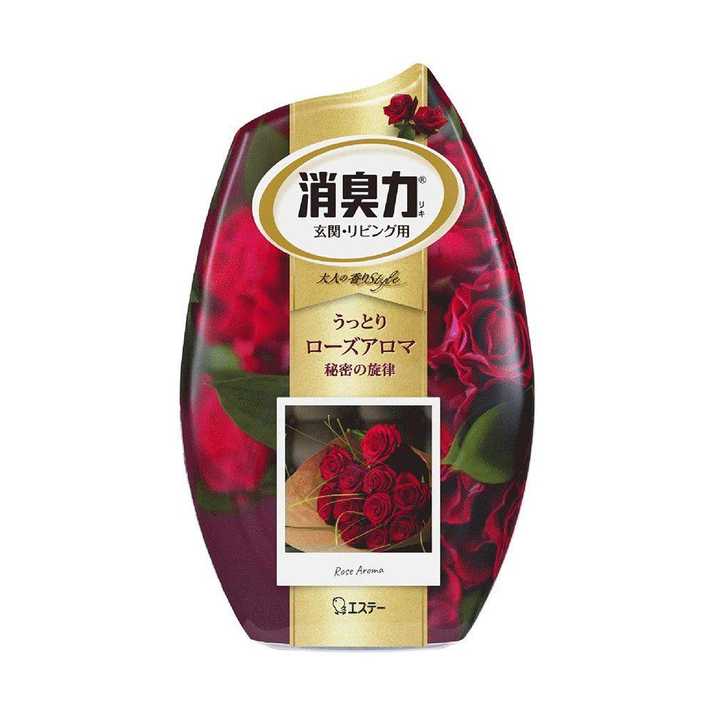 日本 ST雞仔牌 - 部屋室內芳香 消臭力 香氛 芳香劑-玫瑰精油-400ml