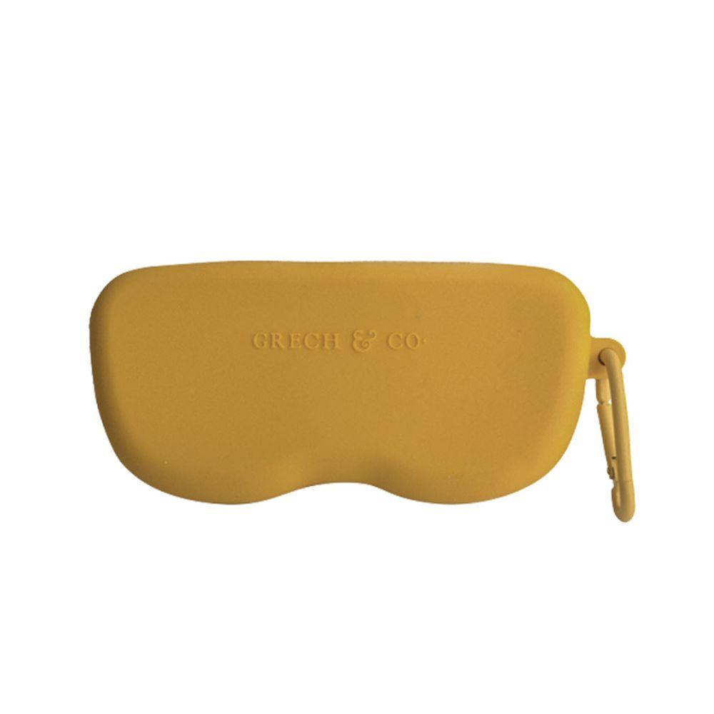 丹麥GRECH&CO - 矽膠眼鏡盒-杏黃