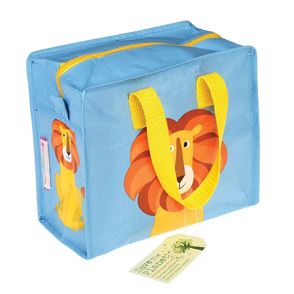 英國 Rex London - 學生上學最佳多功能防水便當袋/野餐袋/手提袋/萬用袋-小獅子