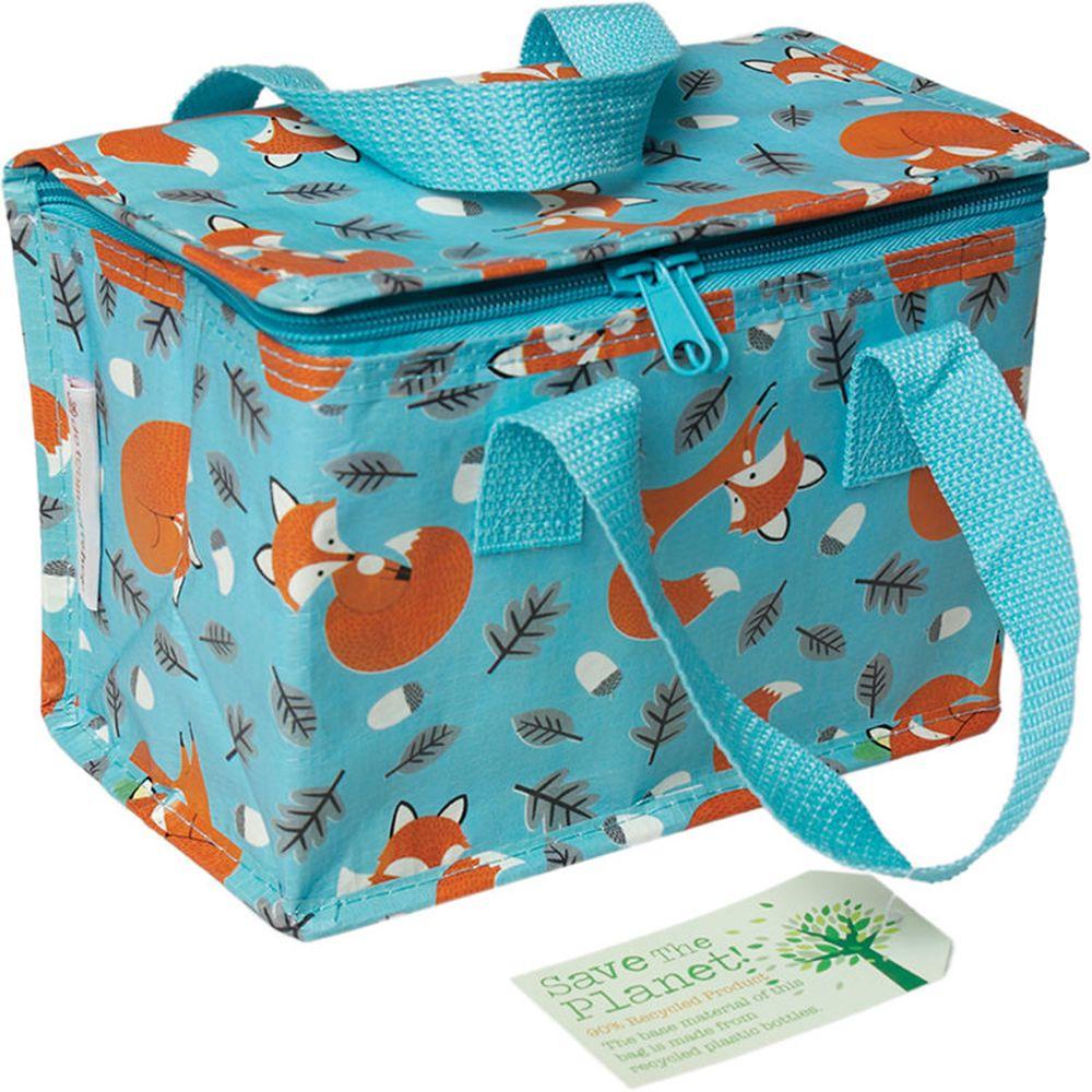 英國 Rex London - 環保保溫袋/保冷袋/便當袋/野餐袋-溫柔狐狸