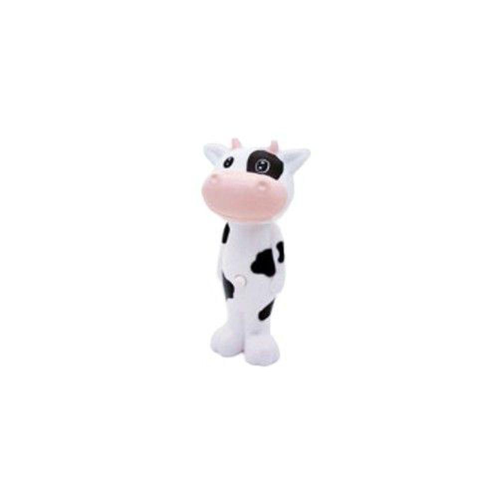日本 U-COMPANY - Bounce up 彈跳牙刷-小乳牛-黑白