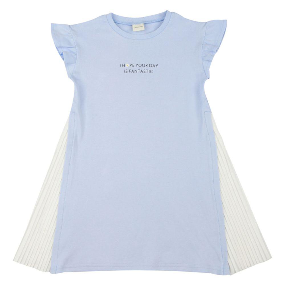 akachan honpo - 洋裝-淺藍色