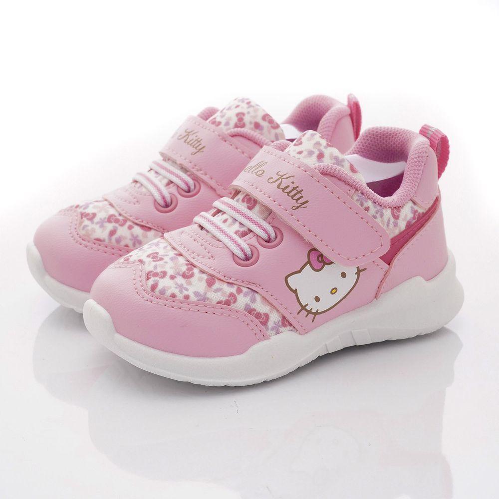 HELLO KITTY - 小碎花運動鞋款(小童段)-粉