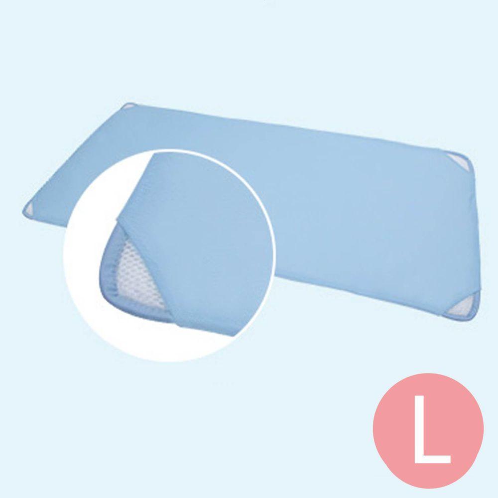 韓國 GIO Pillow - 智慧二合一床套-藍色 (L號)