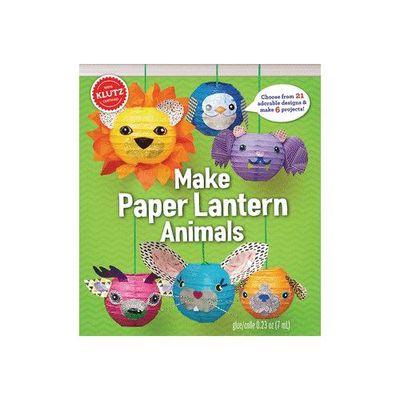 Make Paper Lantern DIY動物燈籠