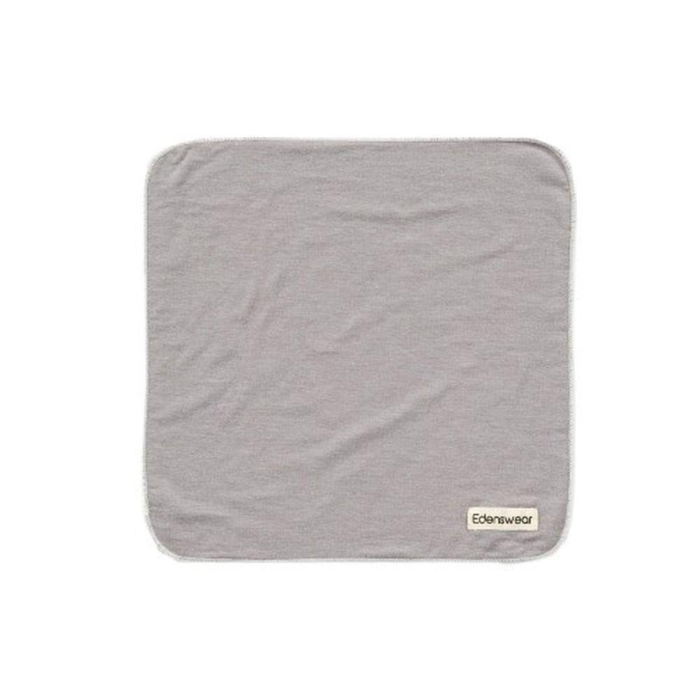 Edenswear 伊登詩 - 鋅健康抗敏系列-嬰兒口水巾-灰 (FREE)