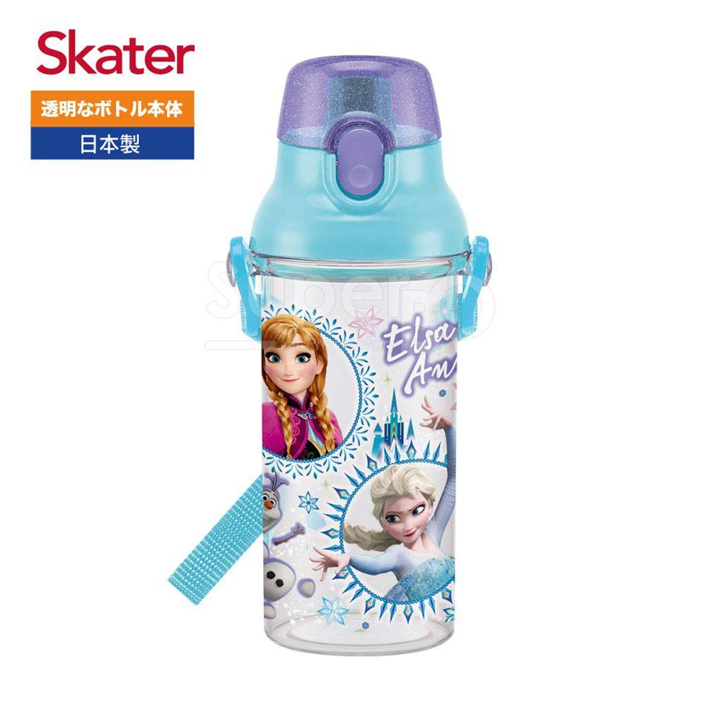日本 SKATER - 兒童直飲透明水壺 (480ml)-冰雪奇緣