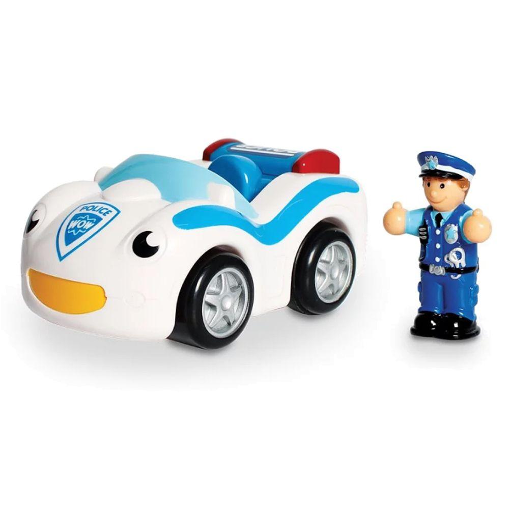 英國驚奇玩具 WOW Toys - 緊急救援 警車寇迪