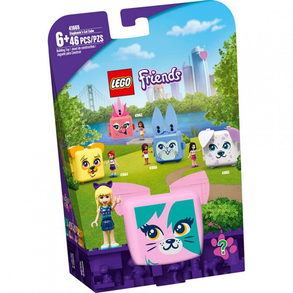樂高 LEGO - 樂高積木 LEGO《 LT41665 》Friends 姊妹淘系列 - 寵物秘密寶盒-斯蒂芬妮的貓咪-46pcs