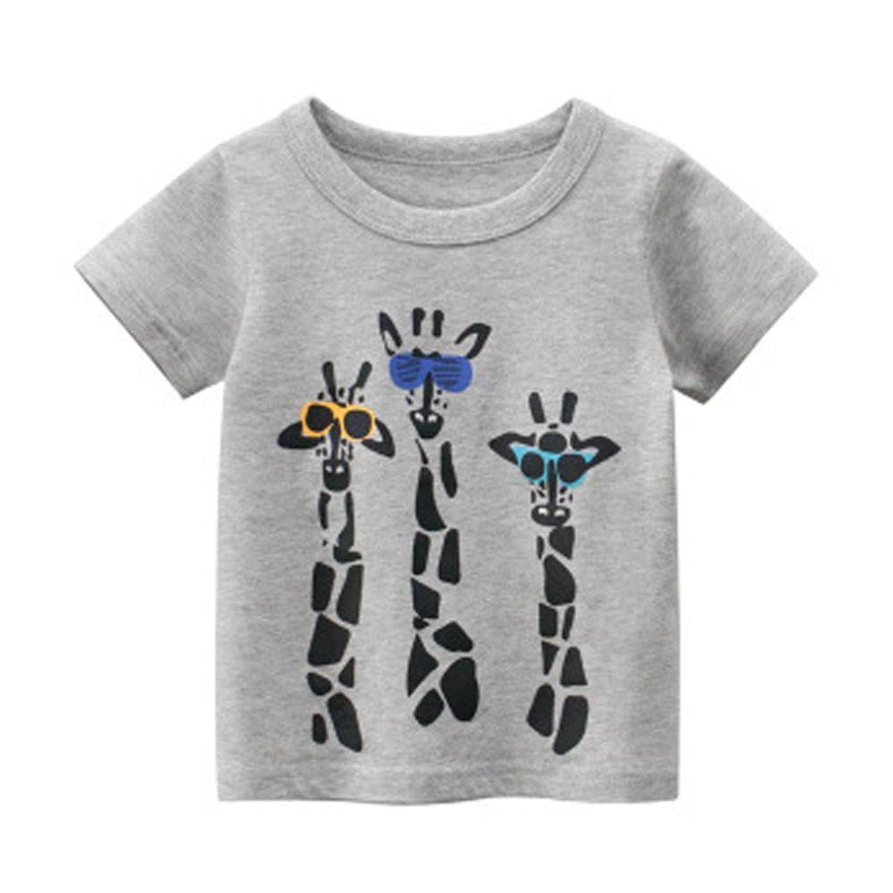 短袖棉T-長頸鹿