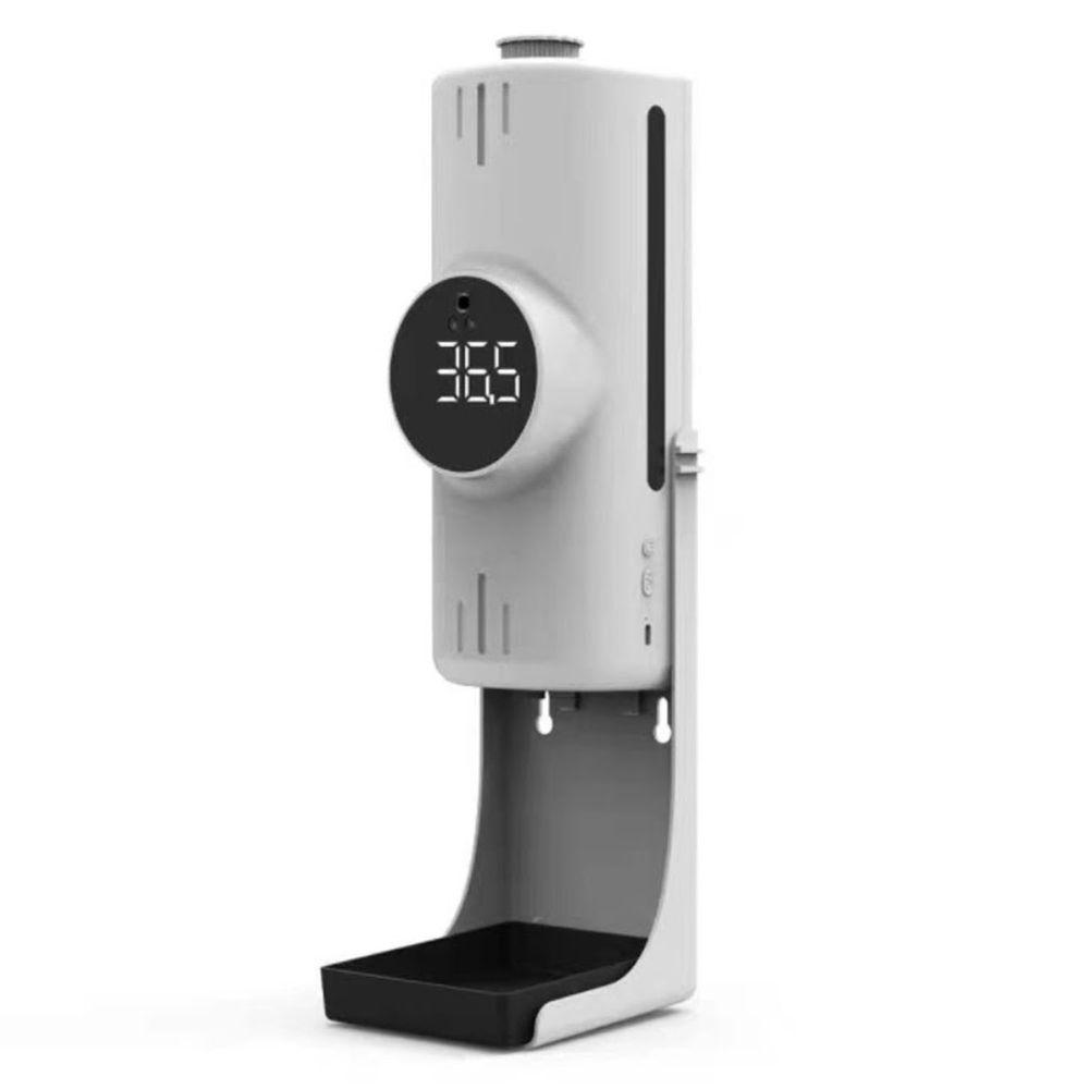 K9X Pro 紅外線三合一雙測溫感應酒精噴霧機(測量額溫與手溫)-附專用三角支架