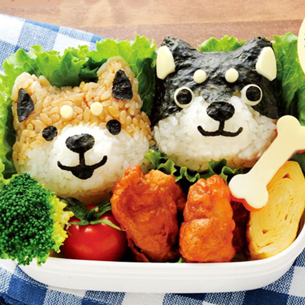 日本 Arnest - 米飯模具組-柴犬-1顆約60g飯量