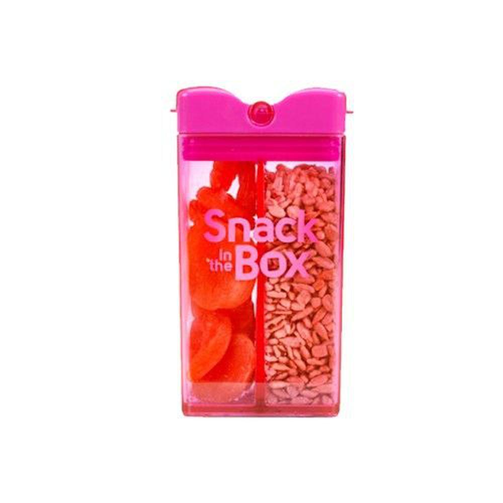 加拿大 Snack in the Box - Tritan兒童零食攜帶盒-粉紅 (355ML)