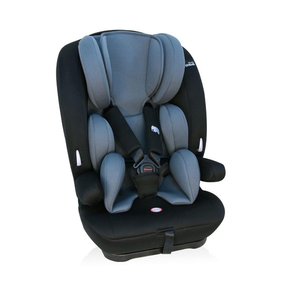 YODA - 第二代成長型汽車安全座椅/汽座/安全座椅-騎士黑-2~12Y (約9~36kg)