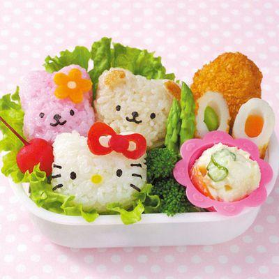 Hello Kitty 米飯海苔模具組