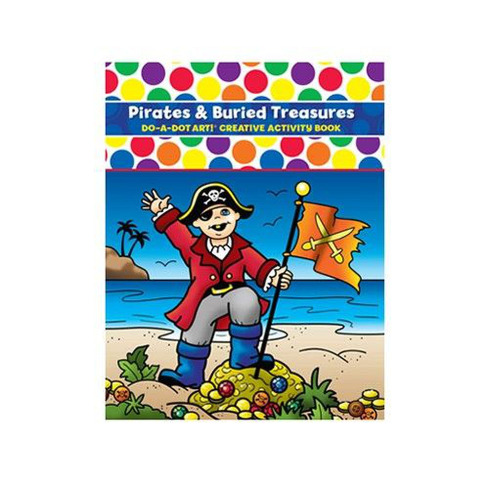 美國 Do A Dot Art - 點點畫冊-海盜尋寶-24頁