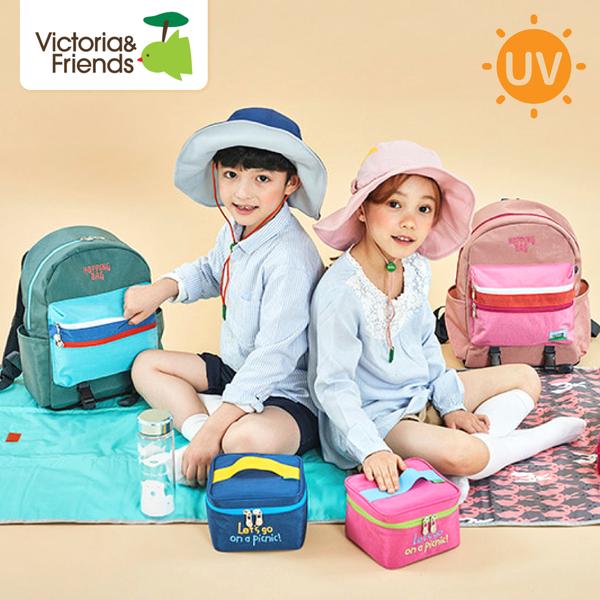夏日防曬大作戰!UPF50+ 軟鋼絲遮陽帽 韓國Victoria&Friends
