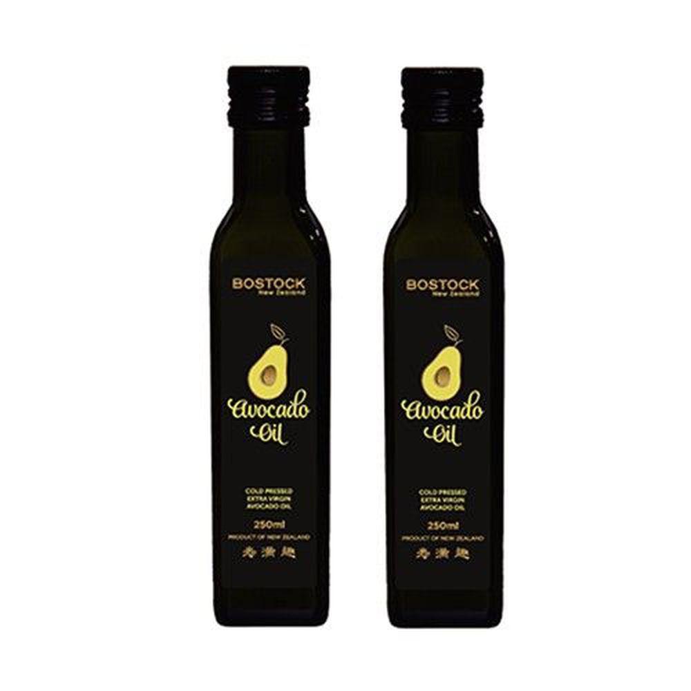 壽滿趣-紐西蘭BOSTOCK - 頂級優惠兩件組-頂級冷壓初榨酪梨油*2-250ml*2