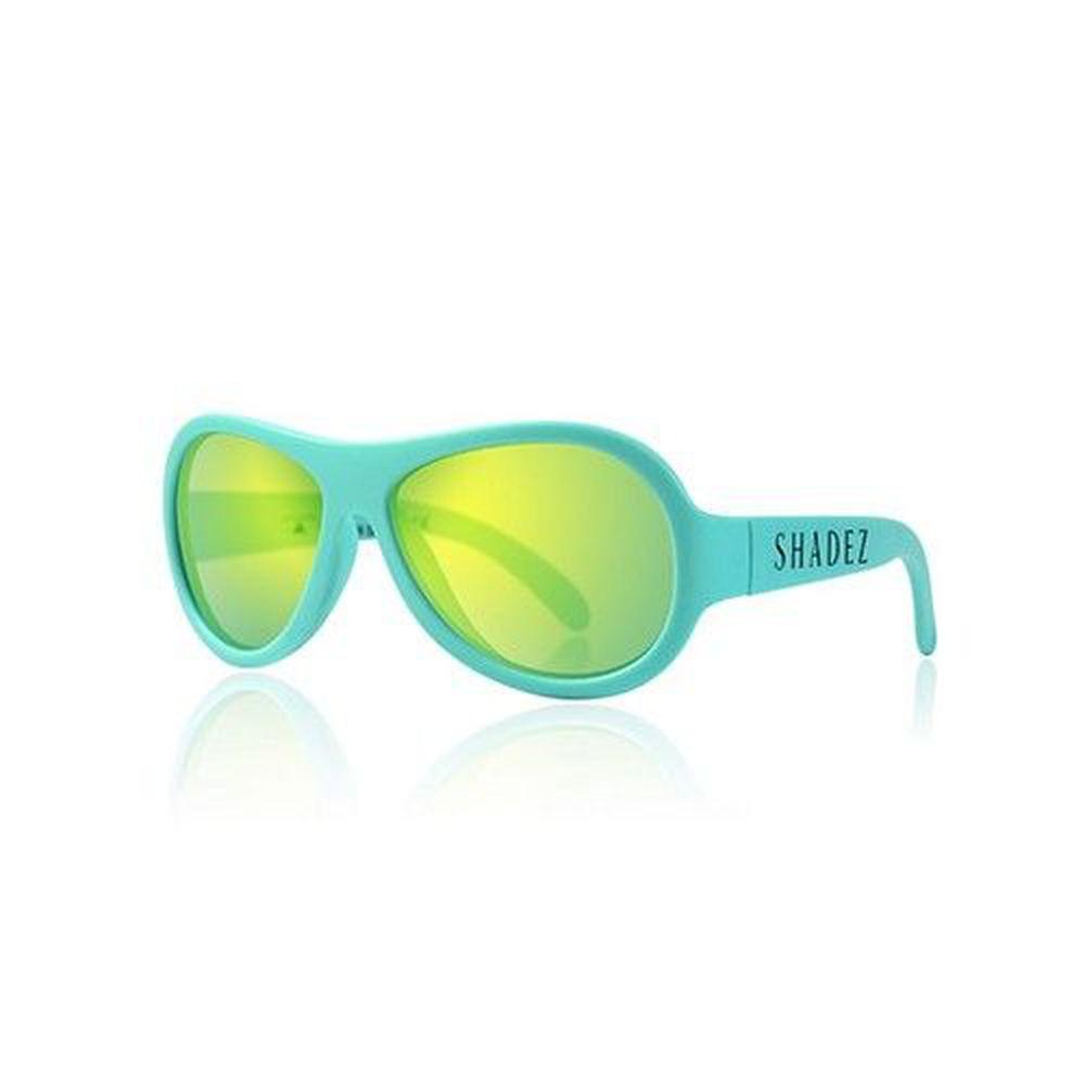 SHADEZ - 可彎折嬰幼兒時尚太陽眼鏡-湖光藍綠