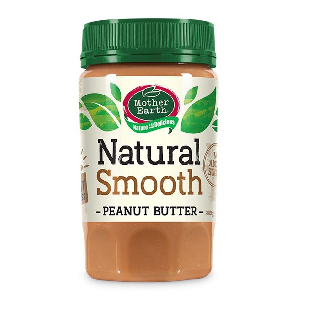 壽滿趣 - 紐西蘭Mother Earth超級花生醬-絲滑 (380g)