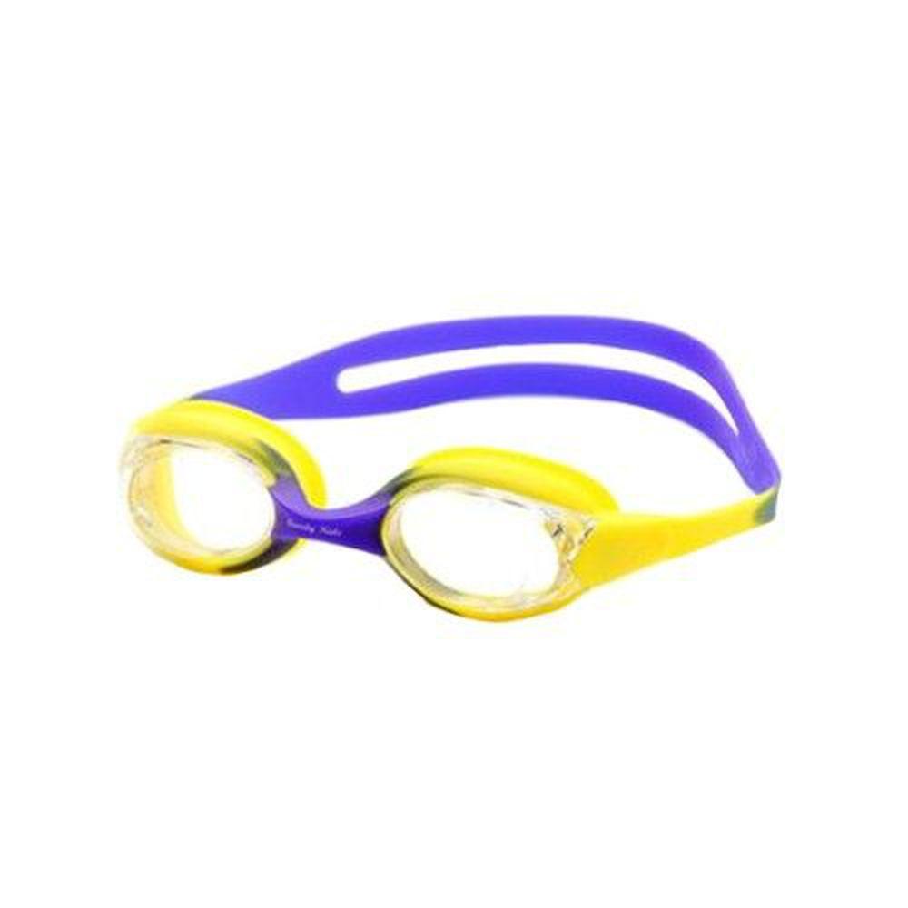 德國 BeverlyKids - 兒童泳鏡-黃紫色 (2-5歲 [42~50cm])