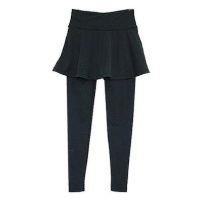 機能顯瘦褲裙-九分