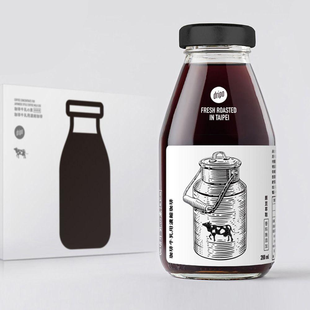 Dripoドリポ - Dripo 咖啡牛乳の素 | 咖啡牛乳用濃縮咖啡-280ml
