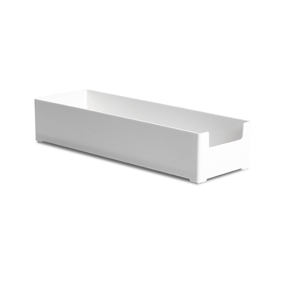 凹型可堆疊桌面抽屜整理收納盒-大號 (30x10x6cm)