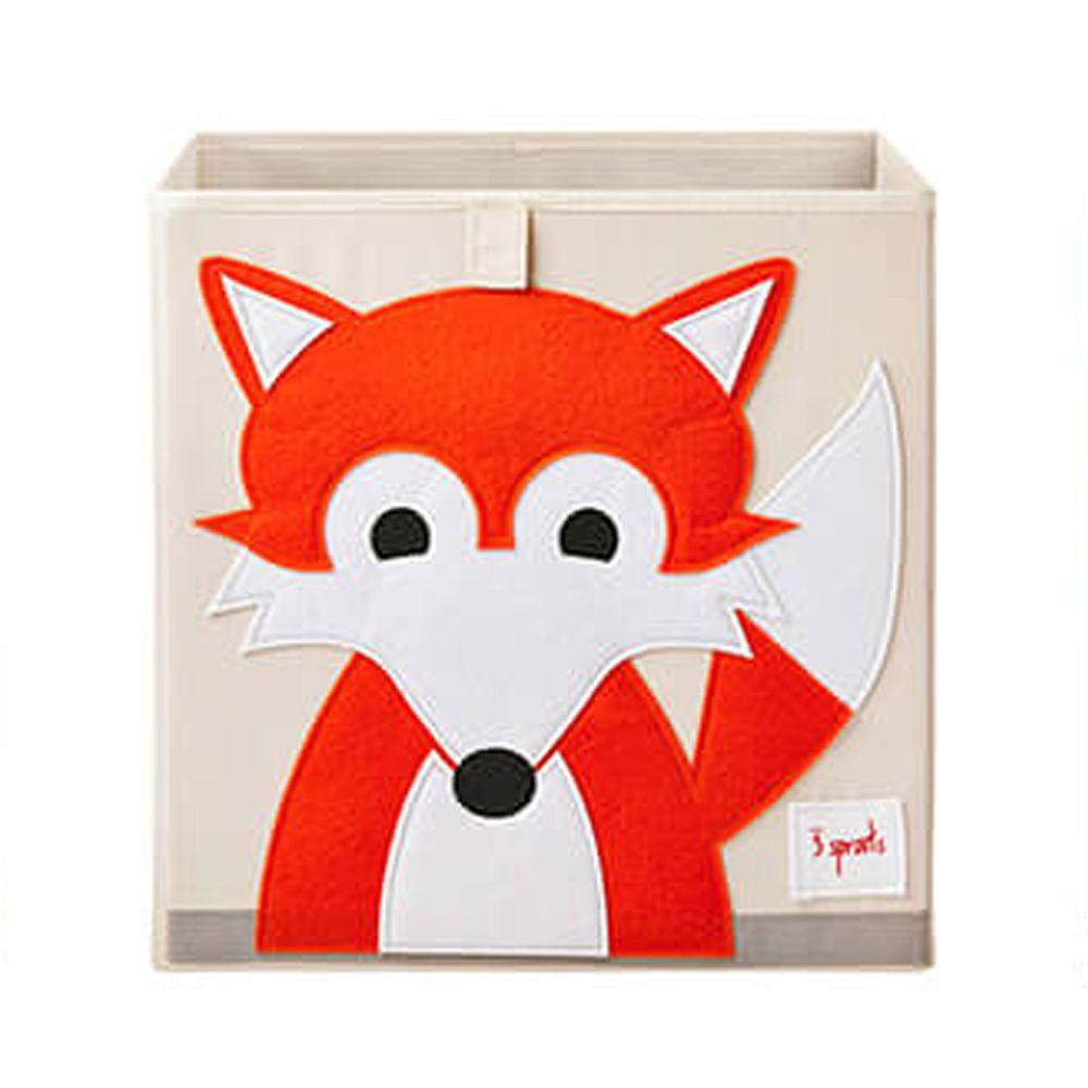 加拿大 3 Sprouts - 收納箱-狐狸