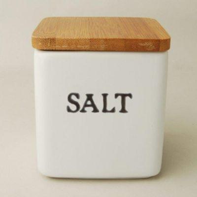 法式簡約風小罐子-鹽-8.5x8.5x10cm
