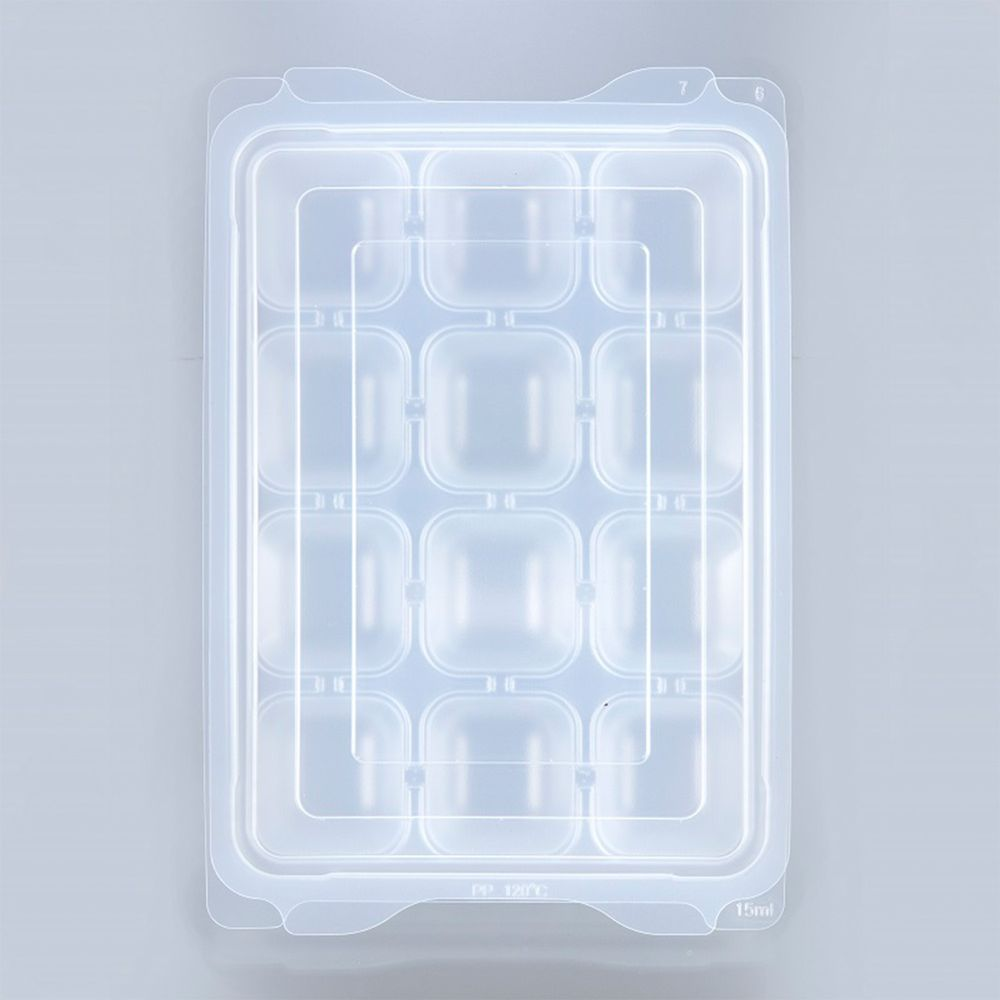 akachan honpo - 離乳食品冷凍保存盒 (S號)-15mlx12格