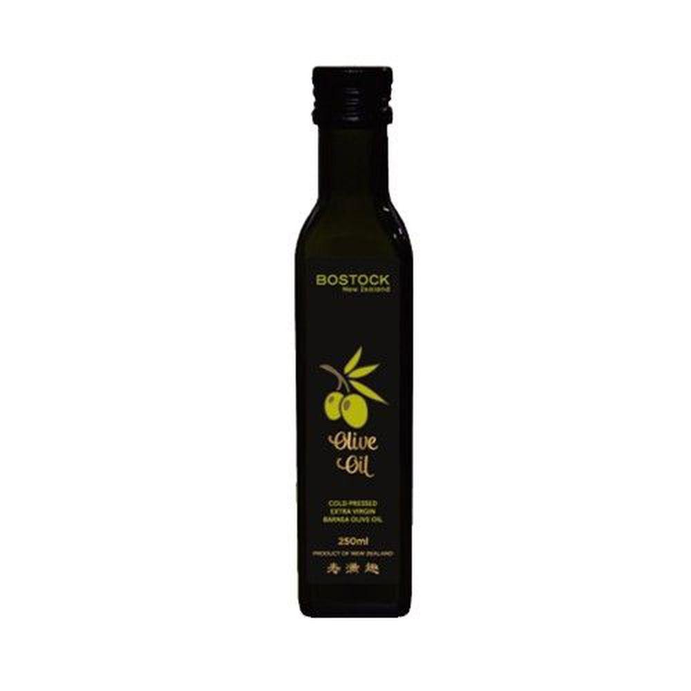 壽滿趣-紐西蘭BOSTOCK - Barnea頂級冷壓初榨原味橄欖油-250ml