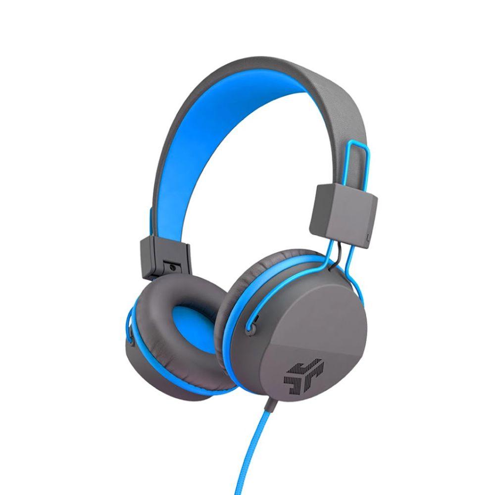 JLAB - JBuddies Studio 兒童耳機-附麥克風-藍色 (23 x 18 x 8 cm)