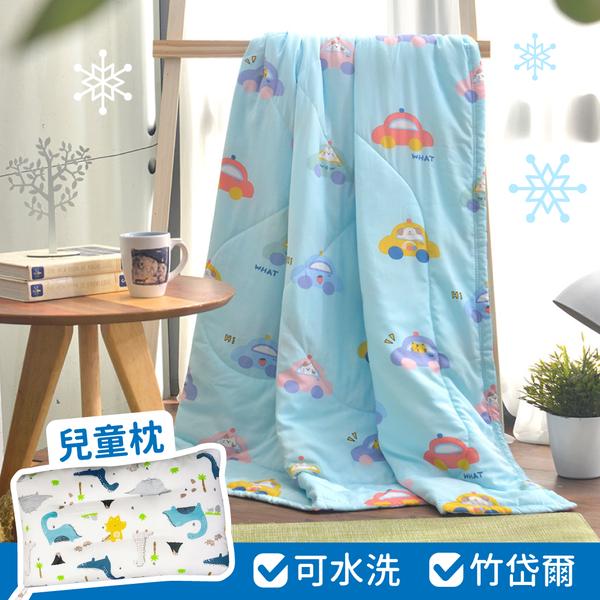 New可水洗抑菌兒童枕!【MIGRATORY】竹纖維/天絲水洗涼被