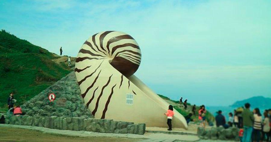 【基隆親子景點】奇幻潮境公園!超高鸚鵡螺溜滑梯!