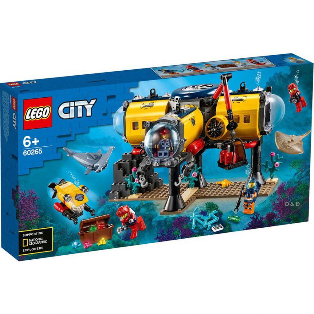 樂高 LEGO - 樂高積木 LEGO《 LT60265 》City 城市系列 - 海洋探索基地-497pcs