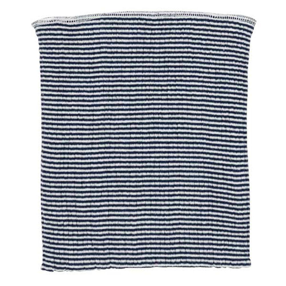akachan honpo - 幼兒肚圍-棉質款-橫紋 深藍色 (80~95cm)