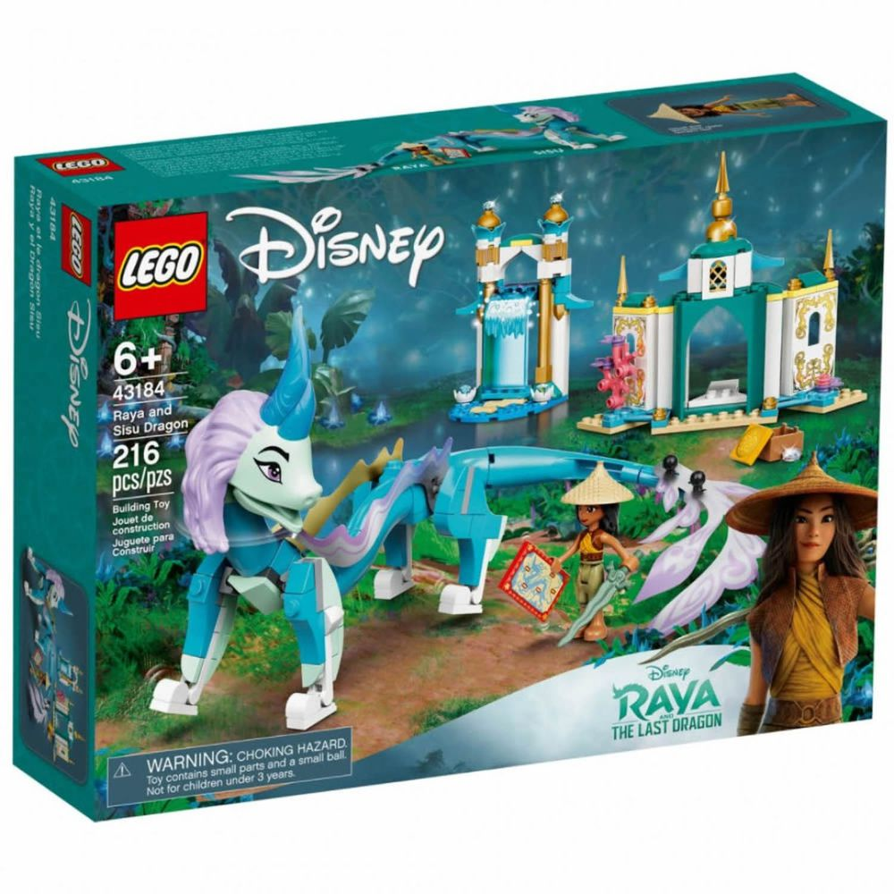 樂高 LEGO - 樂高積木 LEGO《 LT43184 》迪士尼公主系列 - Raya and Sisu Dragon-216pcs