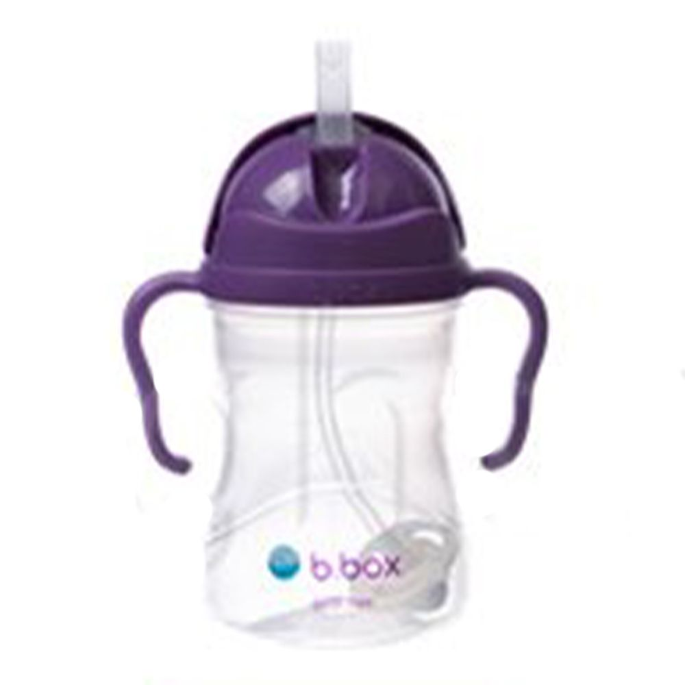 澳洲 b.box - 升級版防漏水杯-葡萄紫-240ml