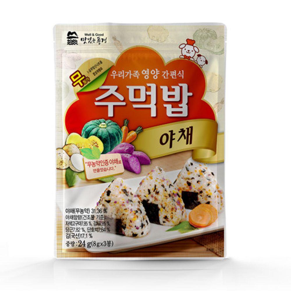 韓國美味風景 - 海苔粉-蔬菜口味-24g